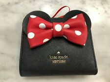 KATE SPADE X MINNIE MOUSE ADALYN BIFOLD SNAP WALLET WITH DUSTBAG  NWT $128