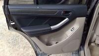 2003 Toyota 4Runner Rear Driver LH Tan Inner Door Trim Panel