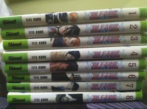 Bleach Manga Tomos 1-8