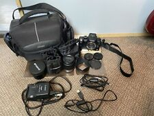 Panasonic LUMIX DMC-G2 12.1MP Digital Camera With 14-42 Lens, Macro Lens, Bag!