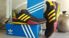 VINTAGE ADIDAS SNEAKERS X-COUNTRY BASKET FUNKY COULEUR RARE