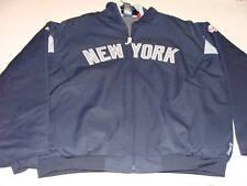 MLB Baseball New York Yankees Premier Jacket XXL 3rd Peak Away Road Authentic