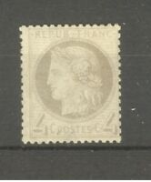 """FRANCE STAMP TIMBRE N° 52 """" CERES 4c GRIS """" NEUF xx TB"""
