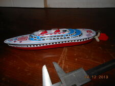 VINTAGE ORIGINAL TIN LITHO NAVE TOYS  MADE IN JAPAN FRICTION