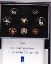 1990 STANDARD PROOF SET OF 8 COINS