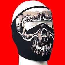 Neoprene Evil Skull Face Mask one size fit all
