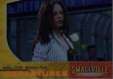 Smallville Season 3 Chase/Insert Card Departures Adieu Clark Bonjour Paris D3