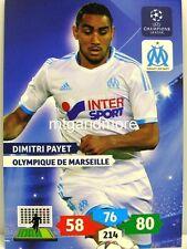Adrenalyn XL Champions League 13/14 - Dimitri Payet - Olympique De Marseille