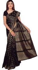 Schwarz Bollywood Karneval Sari Orient Indien CA108