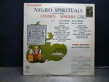 LINDEN SINGERS Les plus beaux Negro spirituals : Jericho ... CTRY 7158