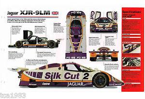 1988 JAGUAR XJR-9LM LeMans Racer IMP Brochure