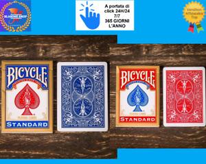 2 mazzi Carte Bicycle Standard Index (Blu-Rosso) 🤩🤩