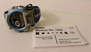 Casio Baby G in Blau Modell No. 1698