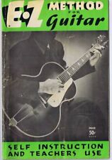 Original Vintage 1937 Ez Method Guitar Instruction Guide Book