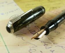 Gray Shadow Wave Parker Vacumatic Junior Fountain Pen restored