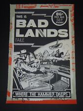 Faile This is Bad Lands Art Print Poster Signed & Numbered