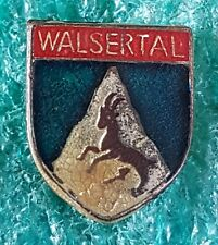 WALSERTAL AUSTRIAN CLIMBING MOUNTING OLD PIN BADGE