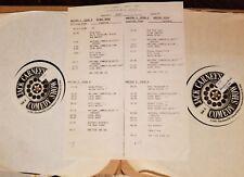 WOODY ALLEN RICHARD PRYOR PAT COOPER MEL BROOKS et RADIO BROADCAST LP PROMO RARE