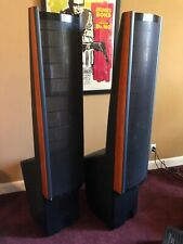 MartinLogan Ascent electrostatic speakers, set of 2, cherry rails, lightly used