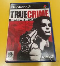 True Crime Streets of L.A. GIOCO PS2 VERSIONE ITALIANA
