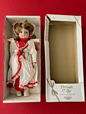 """Gorham Petticoats & Lace Fourth Annual Christmas Doll """"Ivey"""" VT819"""