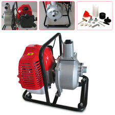 Water Transfer Pump 43cc Air-cooled 2 Stroke Engine Single Cylinder Gas 2Hp Us