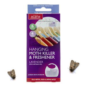 Acana Hanging Moth Killer and Fresheners with Lavender Fragrance Kills Moths