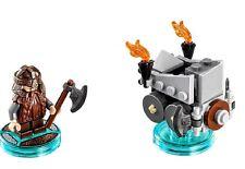 LEGO Dimensions Lord of the Rings Gimli SET 71220 FUN PACK Minifigure Dwarf NEW