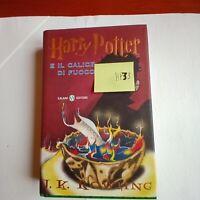 J.KRowling - Harry Potter e il calice di fuoco -  9°rist. o .2002 - 1°ED.(HP33)