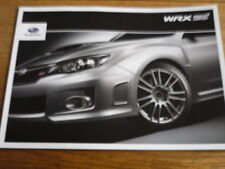 SUBARU WRX STI , 2011 MODEL YEAR BROCHURE