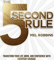 The 5 Second Rule  by Mel Robbins Book | NEW AU