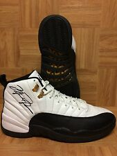 RARE!🔥 Michael Air Jordan Nike Retro XII Taxi Countdown Autographed Shoes Sz 12
