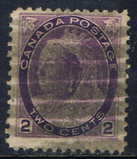 Canada #76(5) 1898 2 cent purple QUEEN VICTORIA Duplex Cancel