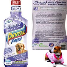 Dog Dental Care Fresh Breath Water Cat Mouth Wash Anti Plaque Teeth Hygiene 17fl