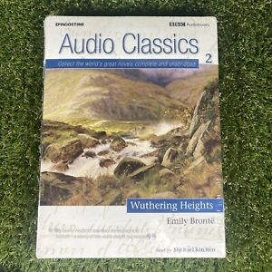 WUTHERING HEIGHTS Emily Bronte BBC Audio Classics - Audiobook - 10x CD - NEW
