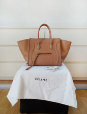 Original CÉLINE Tasche PHANTOM Bag in FLESH Nude black edges Celine Traum RAR