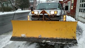 """7'6"""" FISHER  MINUTE MOUNT 2 II SNOW PLOW  DODGE , Chevy , Ford, GMC"""