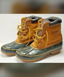Dexter Insulated Waterproof Winter Duck Leather & Rubber Boots Men's 8