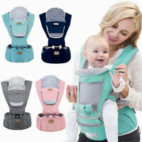 Baby Infant Carrier Breathable Ergonomic Adjustable Wrap Sling Kangaroo Backpack