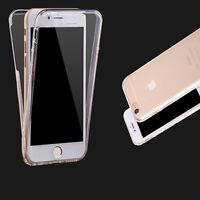 Antichoque 360° Gel De Silicona Protector Transparente carcasa funda para iPhone