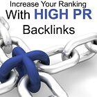 SEO 50 High Pr PR6 - PR10 Manually Added BACKLINKS dofollow edu GOOGLE RANKING
