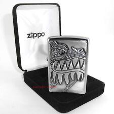 ZIPPO Feuerzeug DRAGON FIREBREATHING Emblem Trick-Zippo Drachen NEU OVP