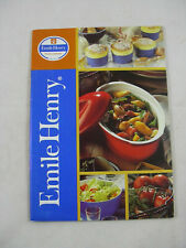 Emile Henry Clay Cookware Catalog & Recipes Booklet France 2003