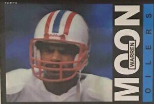 2012 Topps Warren Moon Card # 251 Houston Oilers QB NFL