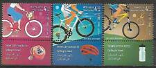 Israel Stamps MNH With Tab Year 2019 Cycling In Israel