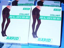 12 paia collant RAPID Tg 4/5 classico velato 20 den art.ELOISE colore MELON