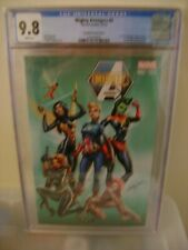 Mighty Avengers #2 (2013) CGC 9.8 Land J. Scott Campbell Variant Cover