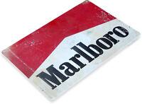 TIN SIGN Marlboro Cigarettes Metal Décor Wall Art Bar Shop Cave A489