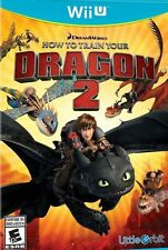 How to Train Your Dragon 2 USED SEALED (Nintendo Wii U, 2014) Free Shipping