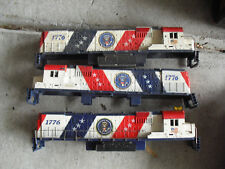 Lot of 3 Vintage HO Scale Tyco Spirit of 76 Locomotive Bodies
